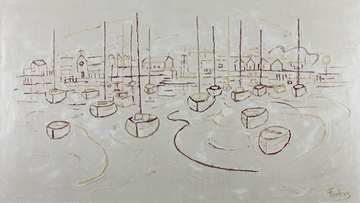 Groomsport Town and Harbour - Stephen Forbes