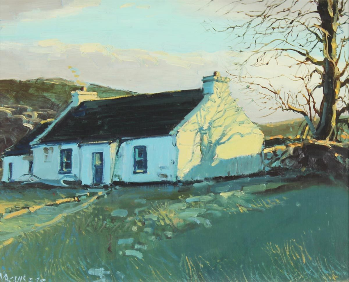 Border Cottage - Cecil Maguire