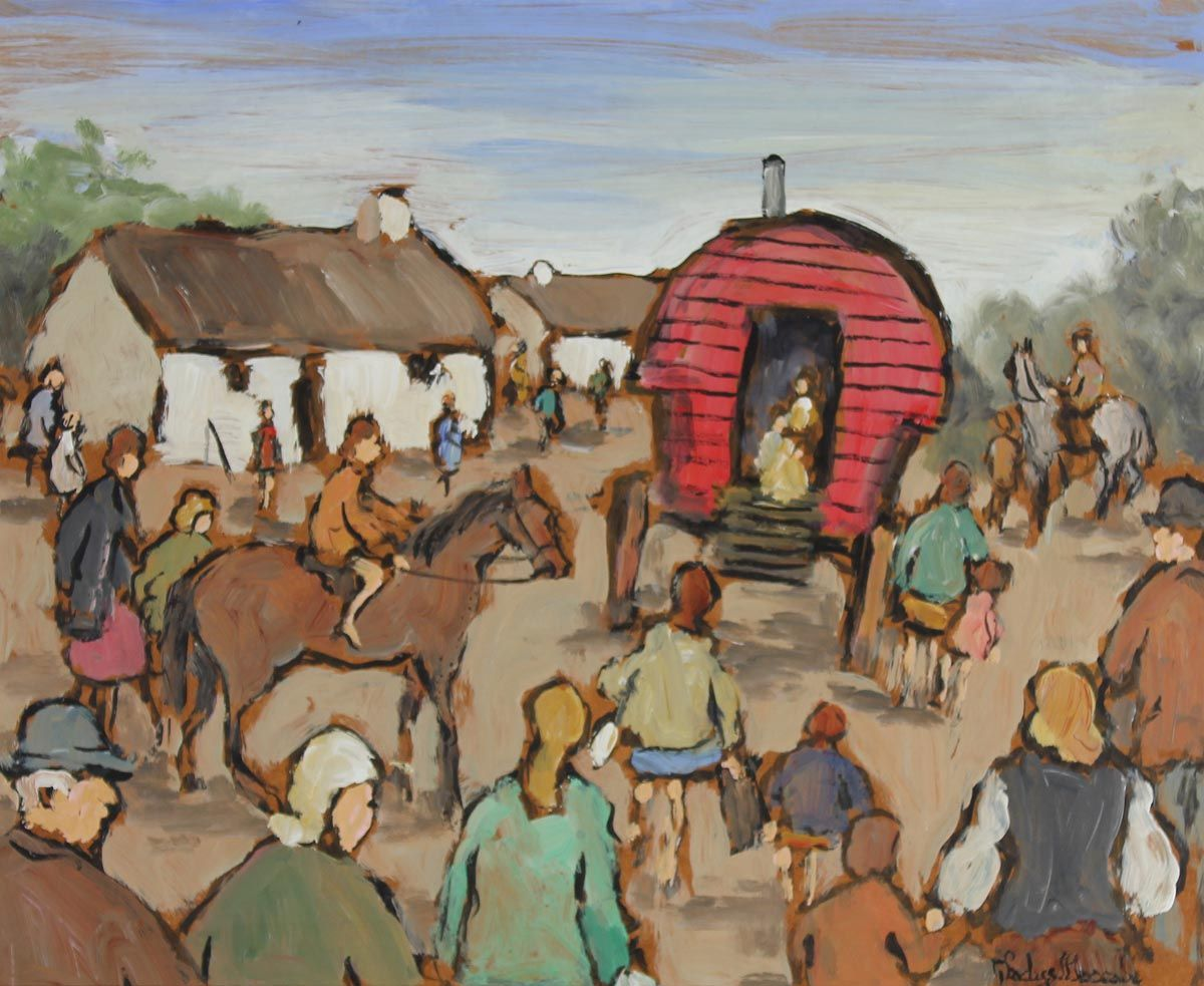 The Horse Fair - Gladys Maccabe