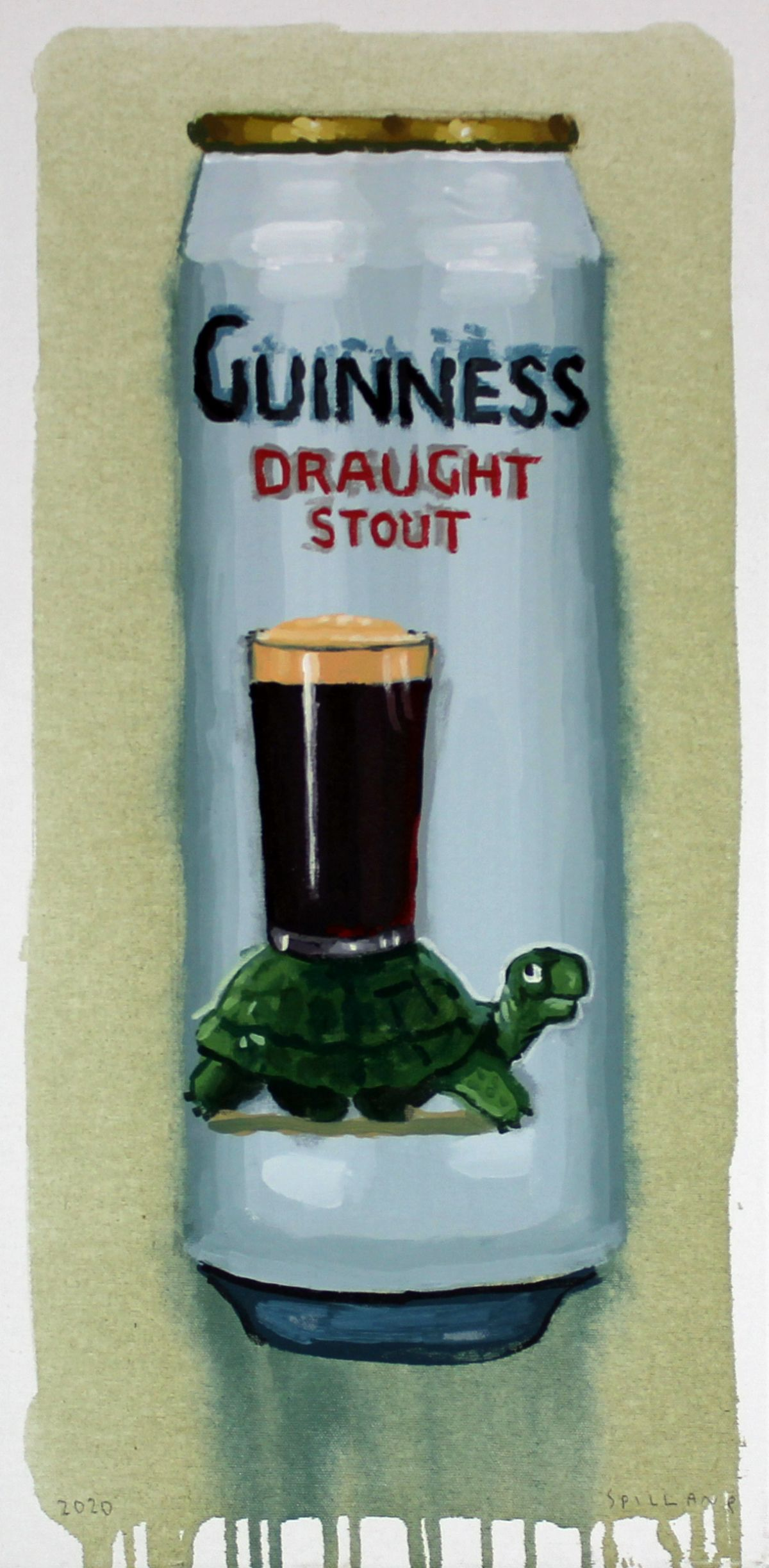 Guiness Draught Stout Can -  Spillane